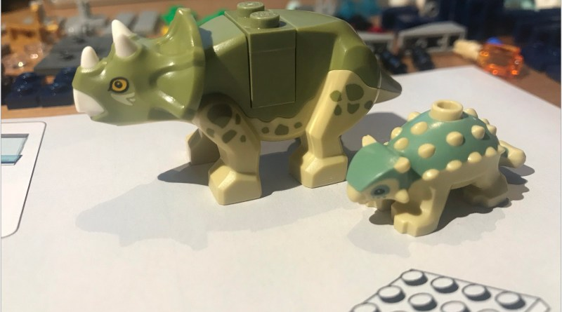 Review: 75939 – Dr. Wu's Lab: Baby Dinosaur Breakout