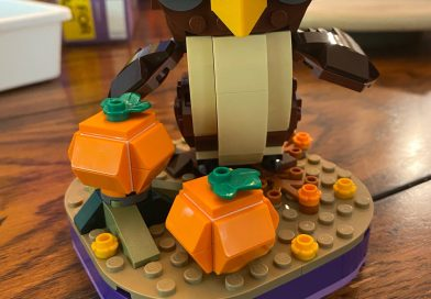 Reviews: 40493 Spider and Haunted House Pack and 40497 Halloween Owl