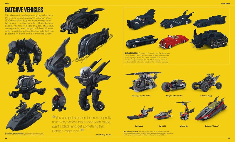 Some of the vehicles sketched up for the movie.