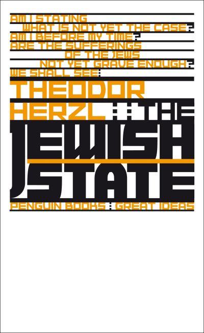 Jewish State - Theodor Herzl