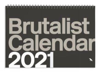 Brutalist Calendar 2021 - Green (photogra Nigel