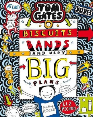 Biscuits, bands and very big plans - Liz Pichon