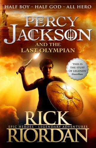 Percy Jackson and the Last Olympian - Rick Riordan