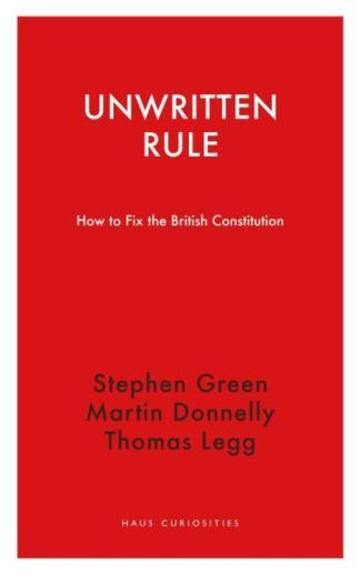 Unwritten Rule - Stephen Green