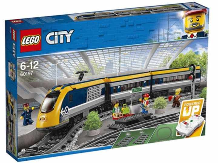 Lego City trenes