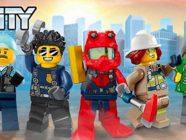 Minifiguras Lego City
