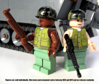 Custom Vietnam War US Soldier Minifigs Available for a