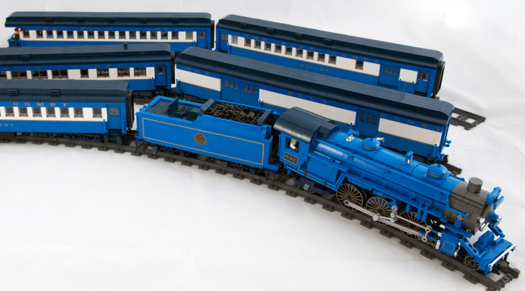 A Tail Of The Blue Comet: The Seashore's Finest Train In