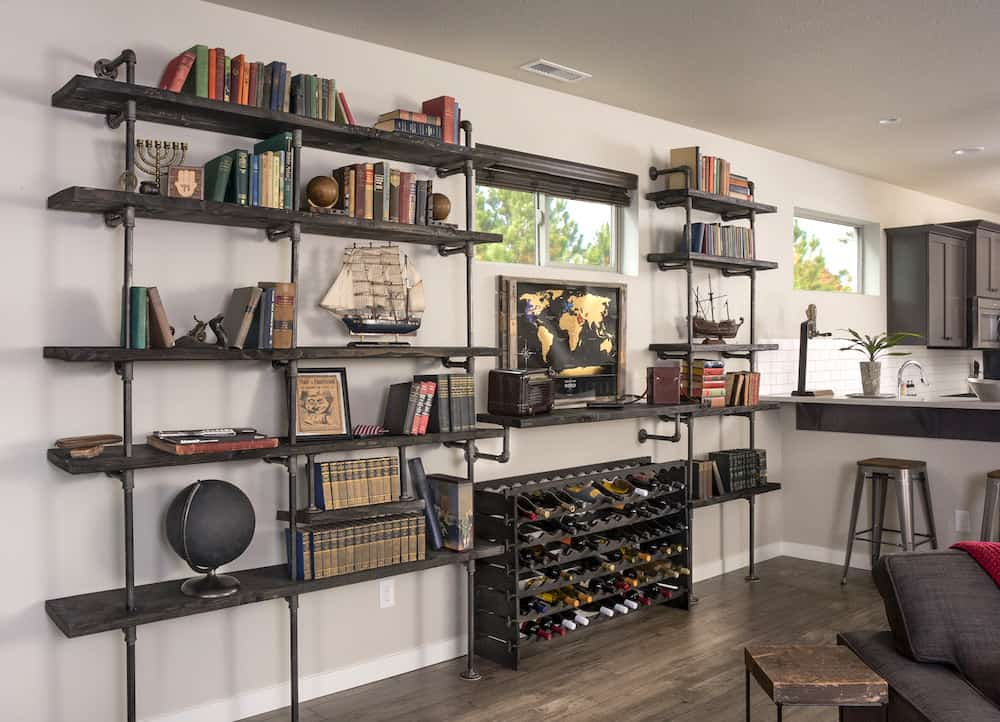 Industrial Style Shelving Storage Ideas  Industrial Decor