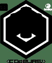 Badge Black Brickodeur