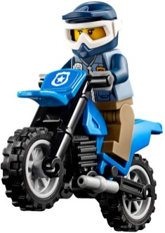 60172 lego city dirt road pursuit 7