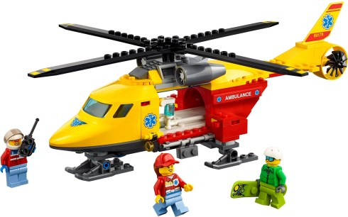 60179 lego city ambulance helicopter 1