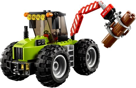 60181 lego city forest tractor 3