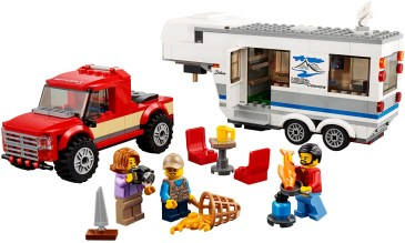 60182 lego city pickup & caravan 1