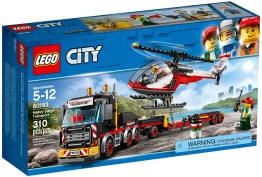 60183 lego city heavy cargo transport 2