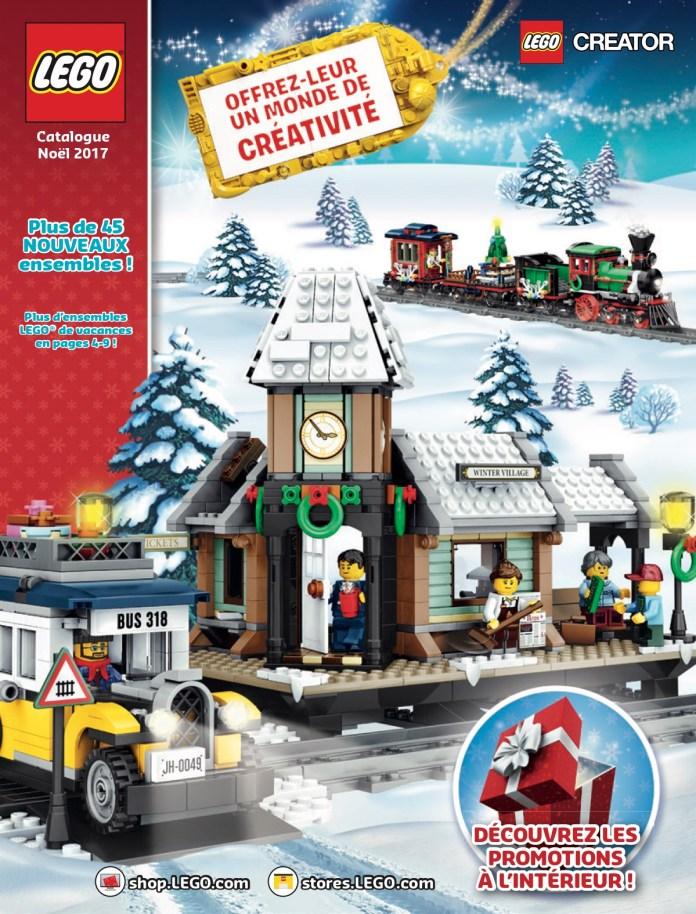 catalogue LEGO Noël 2017