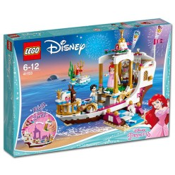 41153 lego disney ariel's royal celebration boat 1