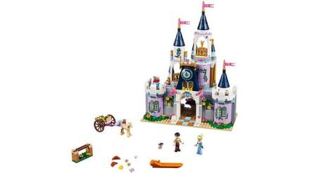 41154 lego disney cinderella's dream castle 2