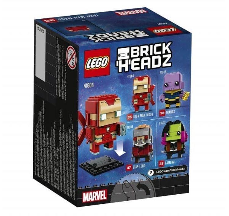 lego brickheadz 41604 iron man mk 50 2