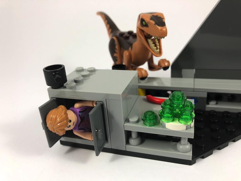 Velociraptor World Park 75932 Jurassic Chaselego BrxCQoEdeW