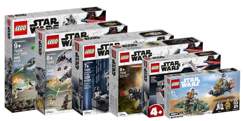 Nouveautés LEGO Star Wars 2019 : quelques images - Brickonaute