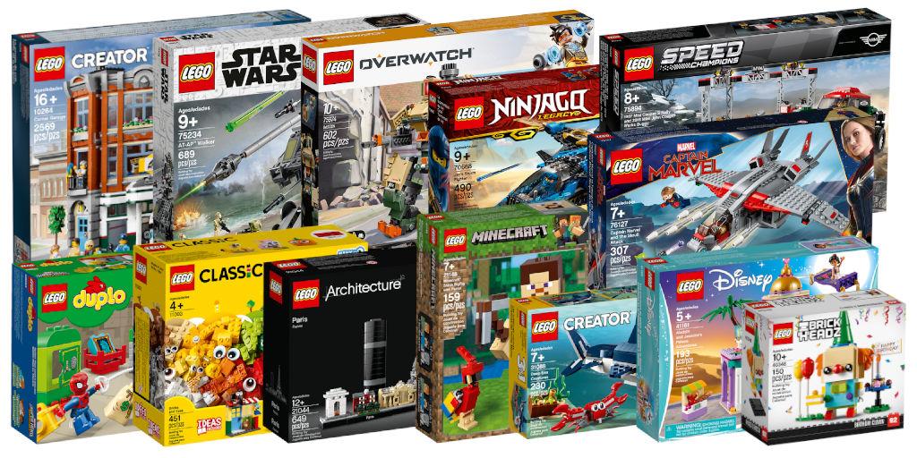 Nouveautés LEGO 2019 : seconde vague disponible - Brickonaute