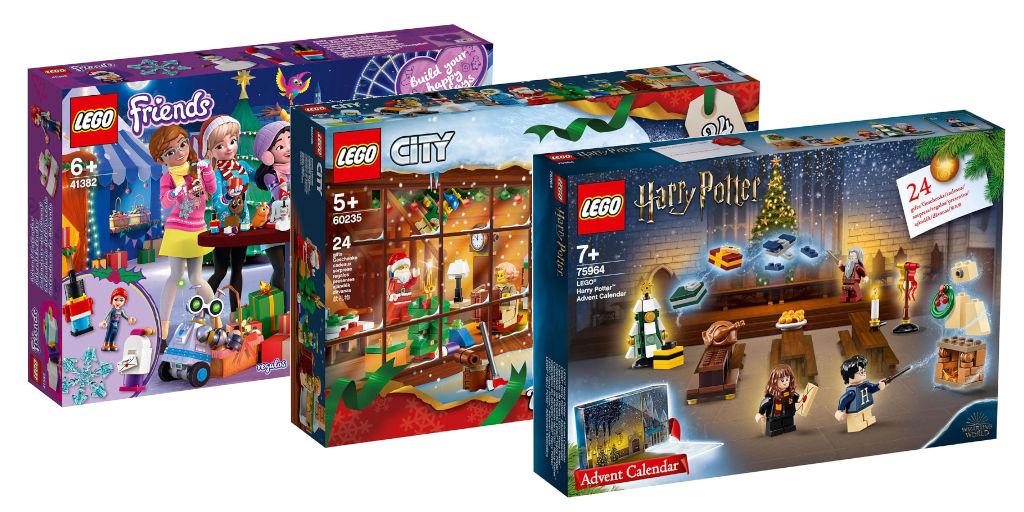 Calendrier De L Avent Lego City 2020.Calendriers De L Avent Lego City Friends Et Harry Potter