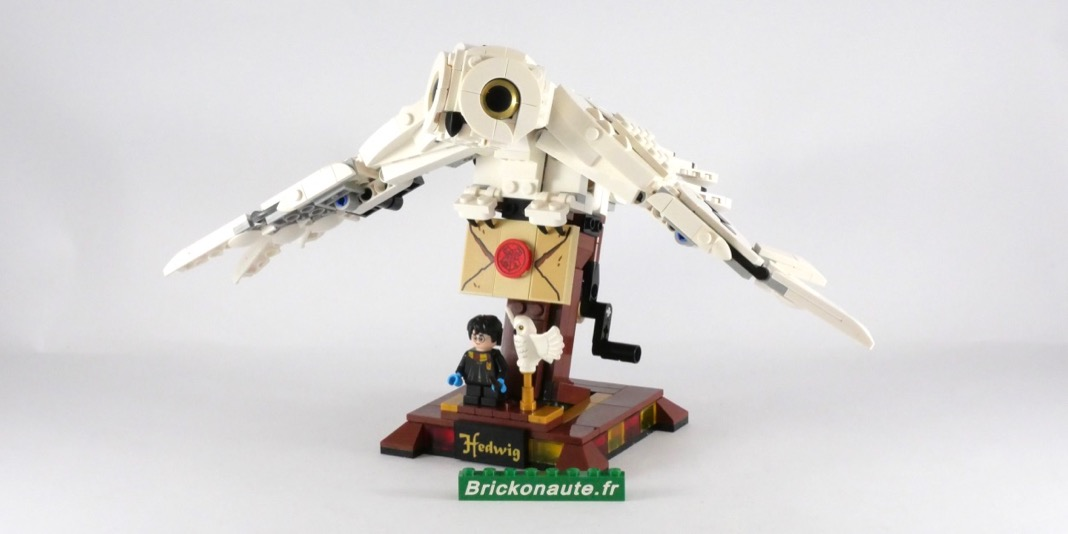 hedwig lego harry potter  75979  review  brickonaute