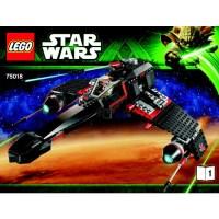 Lego Star Wars JEK 14 039 s Steaalth Starfighter 75018 ...