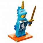 Blue unicorn Knight
