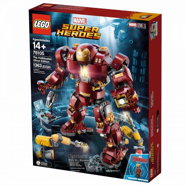 La meravigliosa Hulkbuster di LEGO