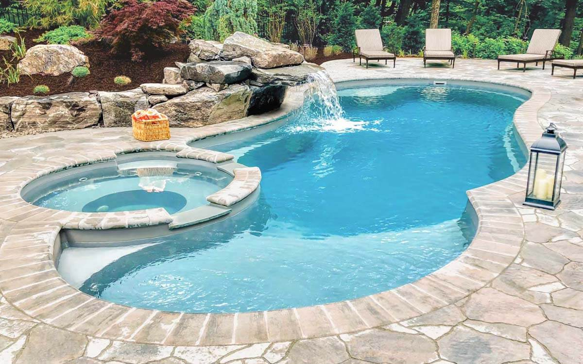 gunite pool essex