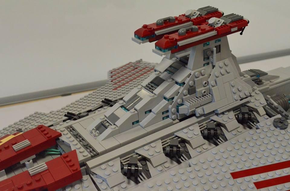 Custom Ucs Lego Star Wars Venator Class Star Destroyer