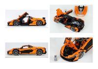 LEGO MOC-16915 McLaren P1 hypercar 1:8 - manual version ...