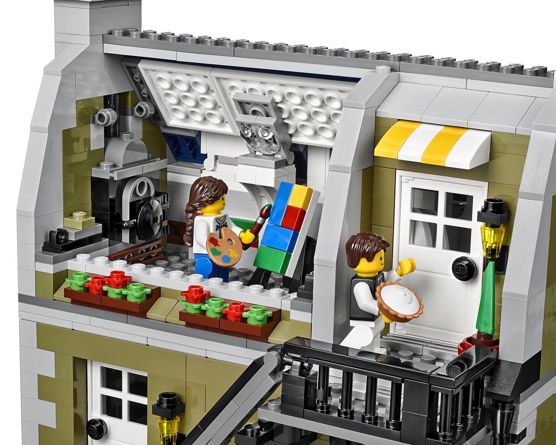 2014 Lego Parisian Restaurant 10243 Modular Building Photo