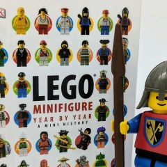 A Look At LEGO…. Book Famous Minifigures