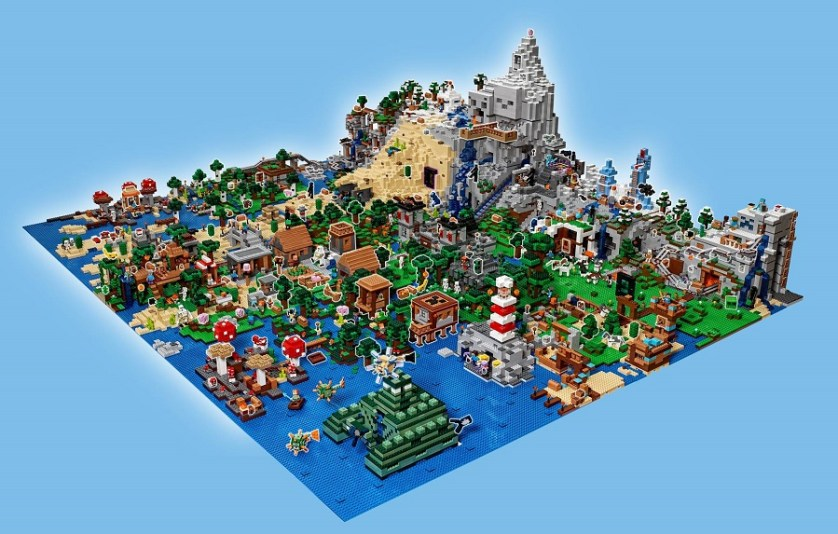 Mapping the world of lego minecraft bricksfanz share this gumiabroncs Image collections