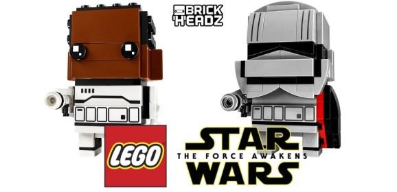 First Two Star Wars BrickHeadz Revealed