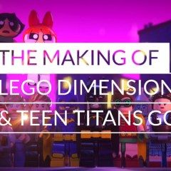 Making Of Teen Titans Go! Dimensions Episode