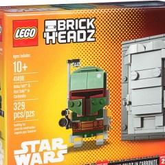 NYCC LEGO Star Wars BrickHeadz Set Revealed
