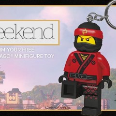 Get Your Free LEGO With i Weekend Today