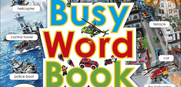 Time To Get Busy With LEGO CITY Busy Word Book
