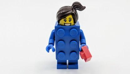 Brick Suit Girl Front