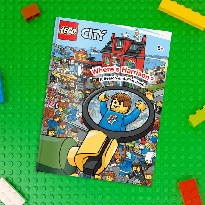 personalised lego books from