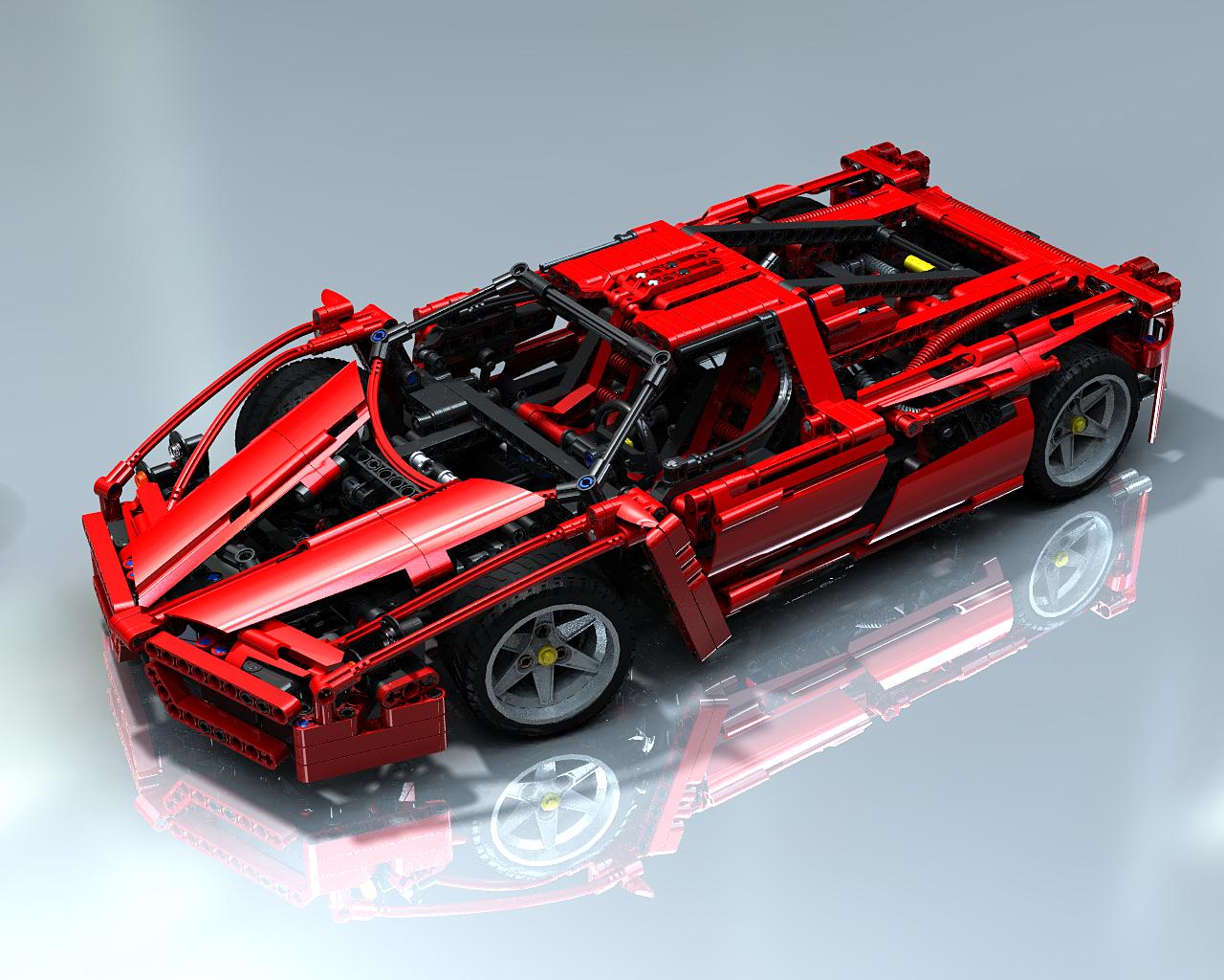Lego Ferrari 8653 Nuovo  Anno 2005  Enzo Ferrari 110