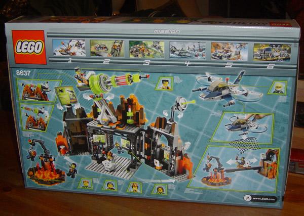 Agents Review  8637 Volcano Base  Mission 8  Lego