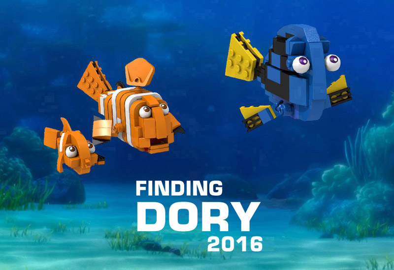 This Custom LEGO Finding Dory Build Is A Promising One