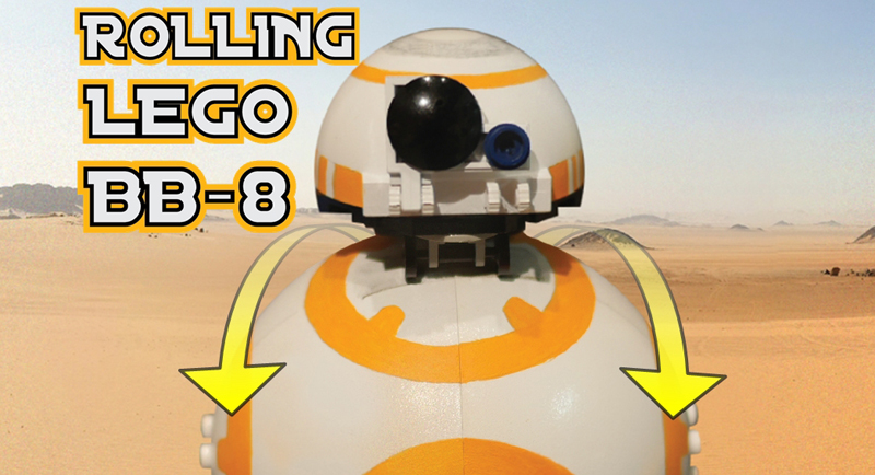 This Might Be the Coolest LEGO BB-8 That We Have Ever Seen