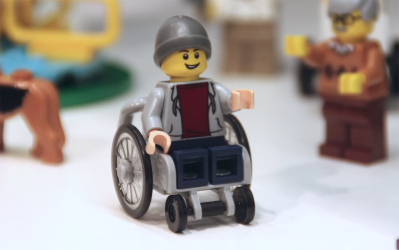 LEGO Unveils First Minifigure in a Wheelchair in LEGO City Fun in the Park (60134)