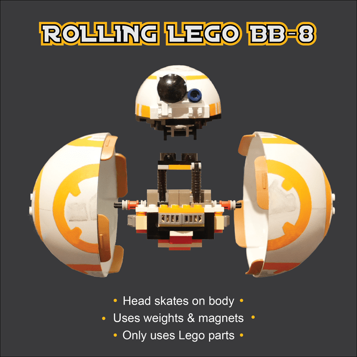 Coolest LEGO BB-8
